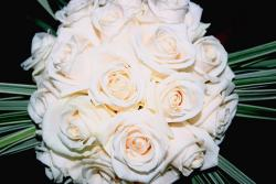beautiful white roses wedding bouquet photo.jpg