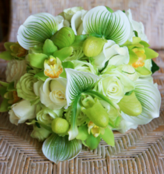 Chic modern wedding bouquet with greenish white with some yellow.PNG
