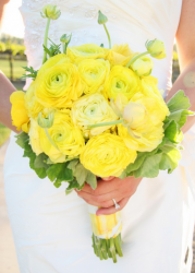 Beautiful modern wedding bouquet with big yellow flowers.PNG