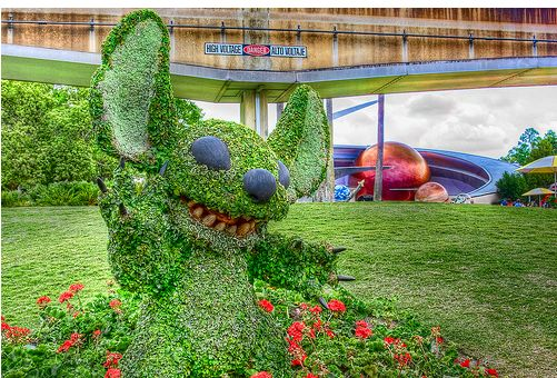 Epcot Flower and Garden Festival Photos WDWMAGIC Unofficial