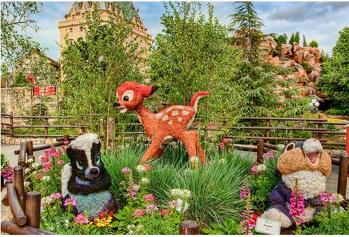 garden at Epcot Centre in Walt Disney World CanadaJPG