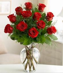 Glass arrangement with big red roses pictures.JPG