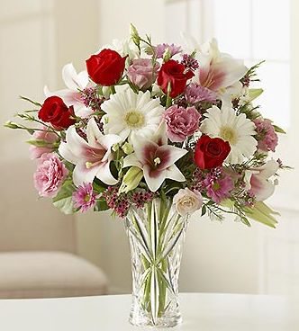 Light Color Flowers Arrangement Photos Jpg